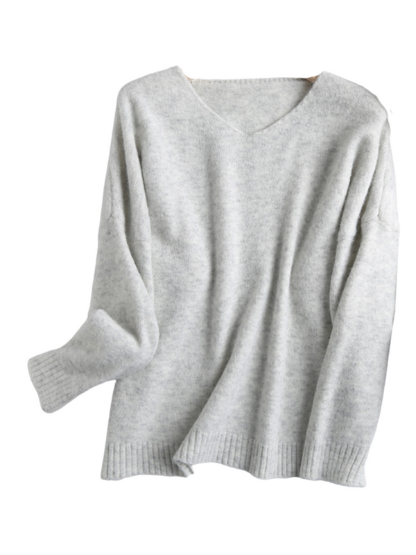 'Venice' Soft Essential V-neck Sweater (5 Colors)