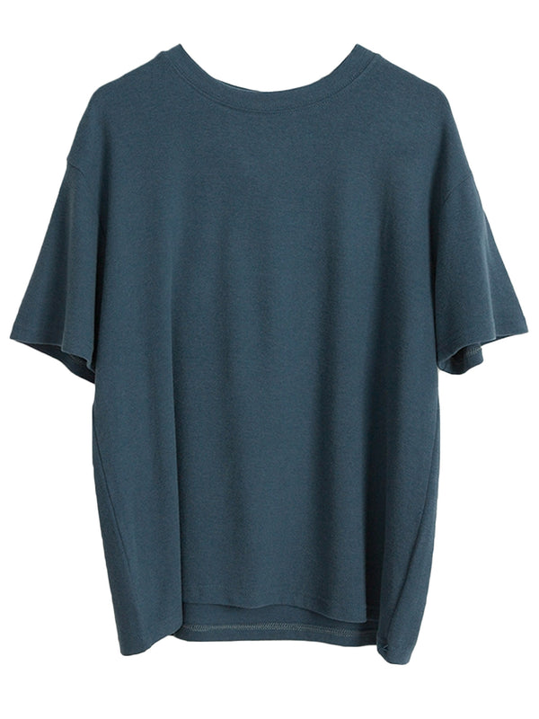 'Gem' Essential Basic Soft Crewneck Short Sleeves T-Shirt (6 Colors)