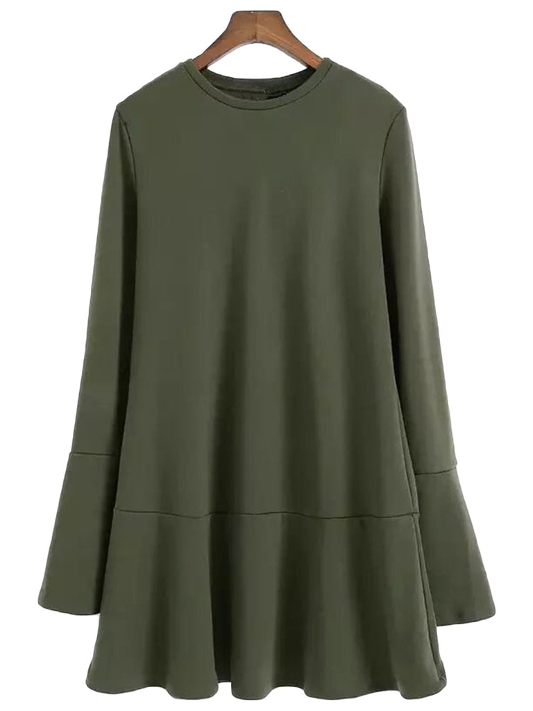 'Ladonna' Long Sleeve Tent Dress