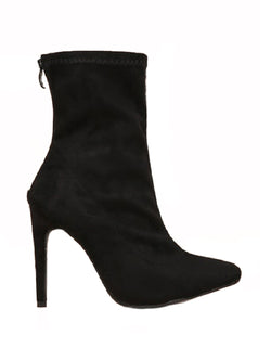 Goodnight Macaroon 'Sierra' Pointed Toe High Heeled Ankle Booties Side