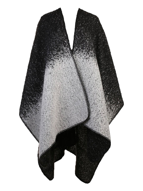 'Shelly' Two-sided Poncho