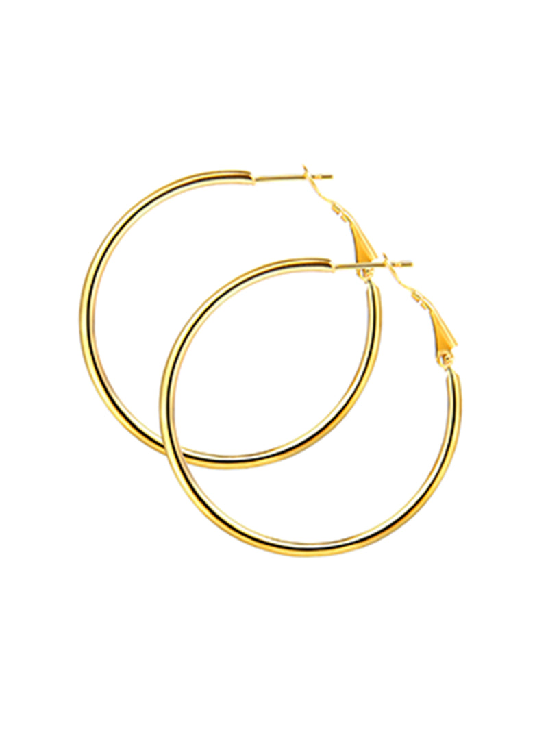 'Selena' All Sizes Hoop Earrings (3 Colors)