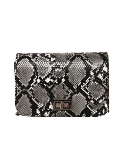 'Jessy' Snake Print Crossbody Handbag (2 Colors)