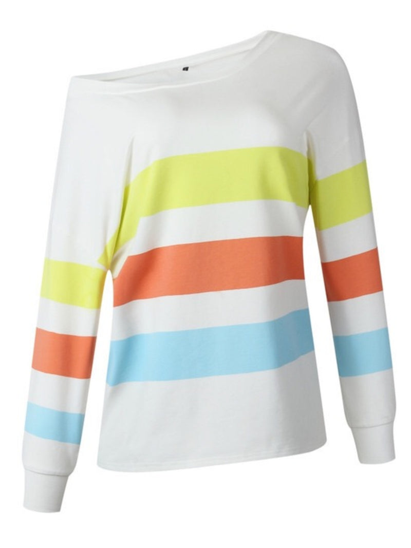 'Bella' Color Block Sweatshirt (3 Colors)