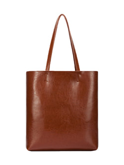 'Jean' Leather Tote Bag (2 Colors)