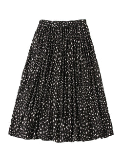 'Rubby' Leopard Flare Midi Skirt (2 Colors)