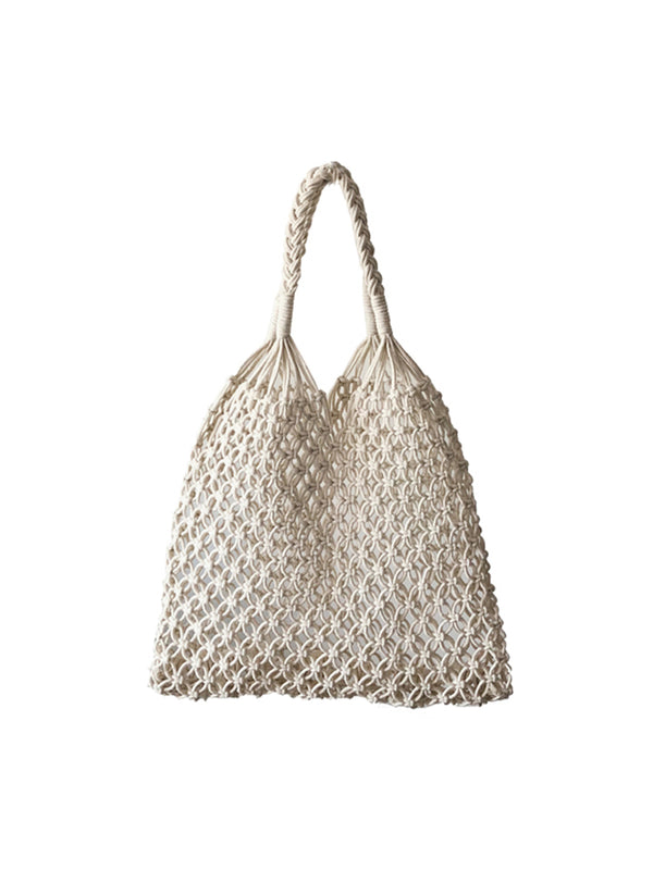 'Sherry' Net Braided Handbag (2 Colors)