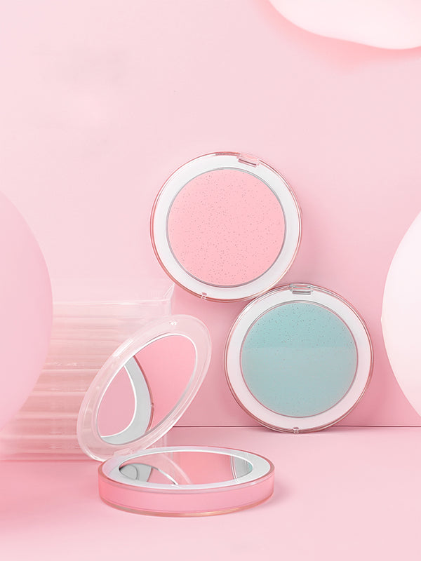 'Creamy' Glitter USB Portable Flash Light Mirror (3 Colors)