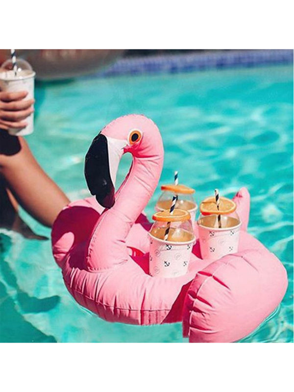 'Amigo' Flamingo Inflatable Float For Drinks