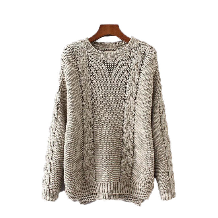'Karina' Cable Knit Sweater