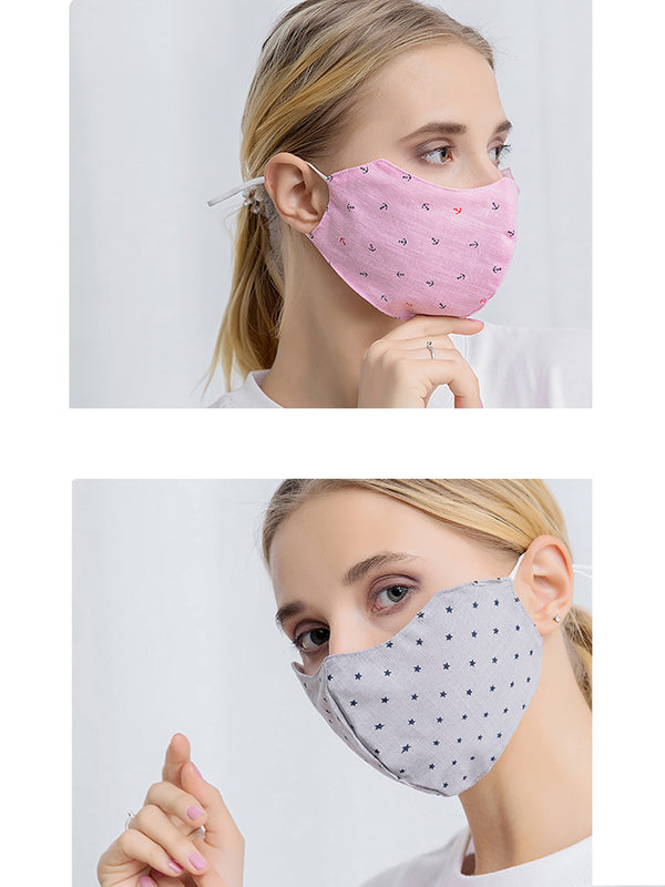 Goodnight Macaroon Cotton Reusable Face Mask (Set of 2)