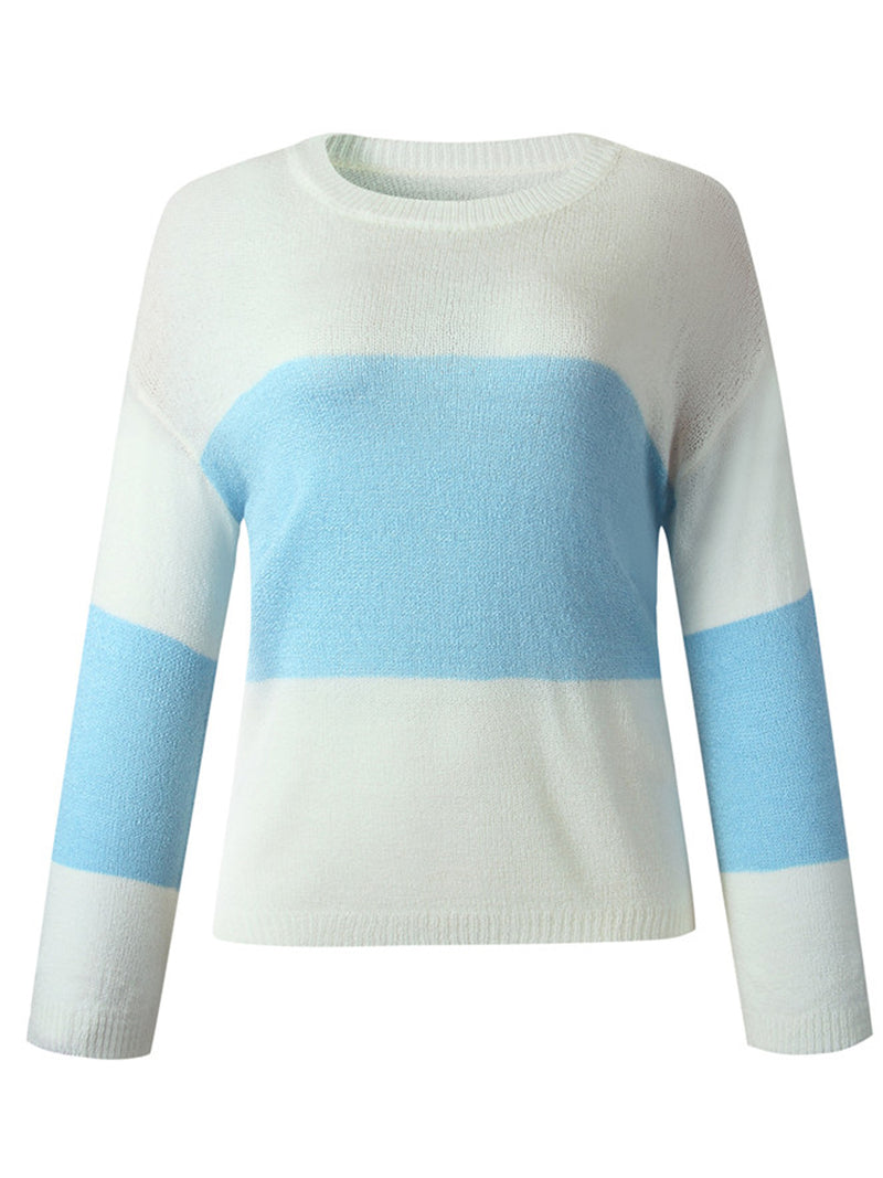 'Lyla' Lightweight Colorblock Sweater (4 Colors)