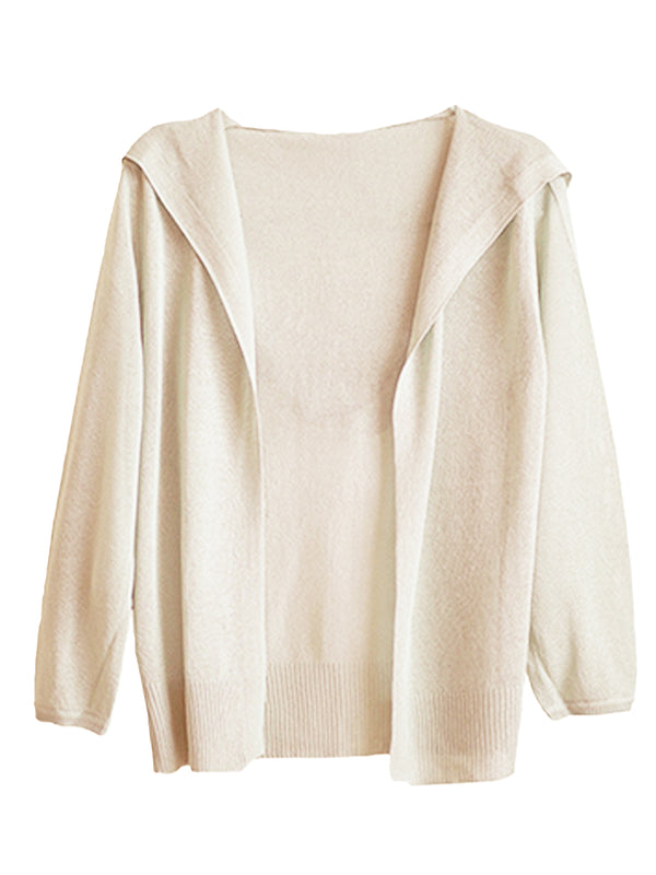 'Yanki' Lightweight Soft Hooded Cardigan (3 Colors)