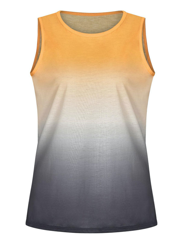 'Race' Tonal Ombre Tank Top (7 Colors)