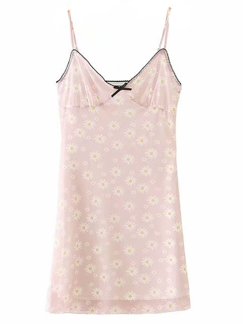 'Macie' Comfy Floral Pattern Nightdress (3 Colors)