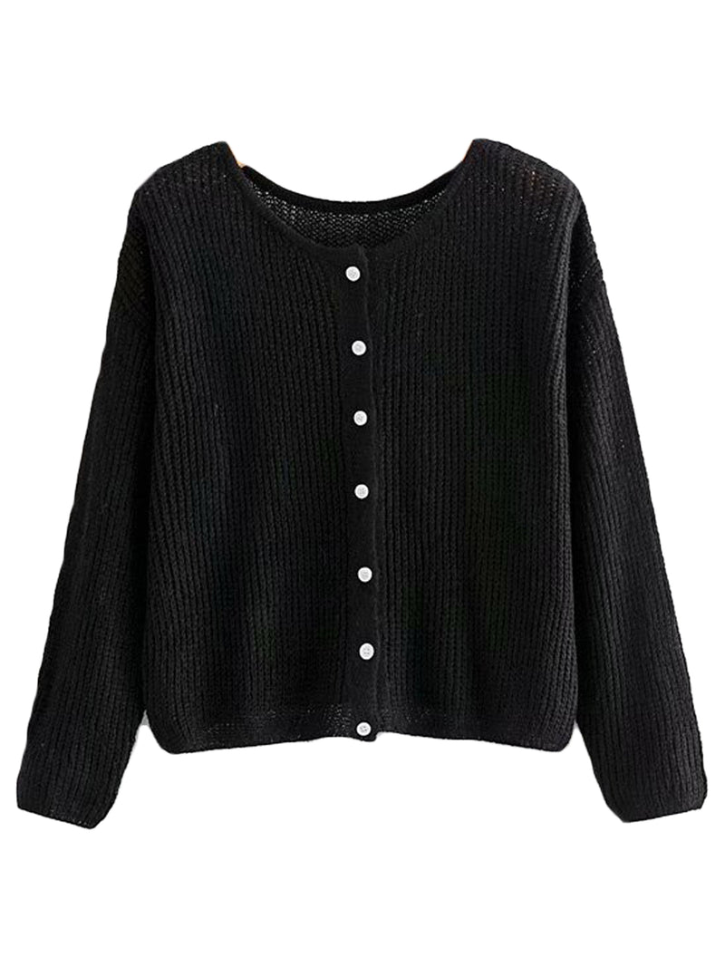 'Jemima' Soft Knitted Cardigan (3 Colors)