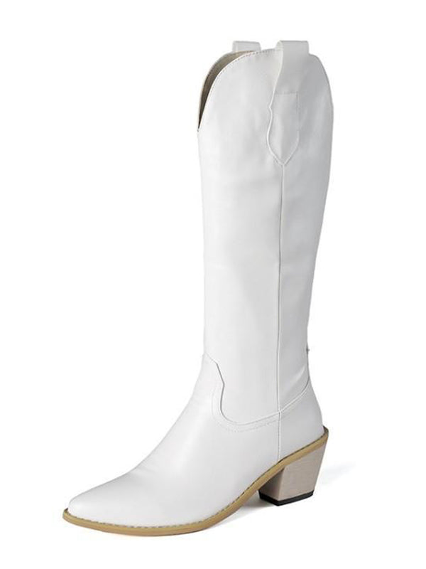 'Loco' Mid-length Heeled Boots (3 Colors)