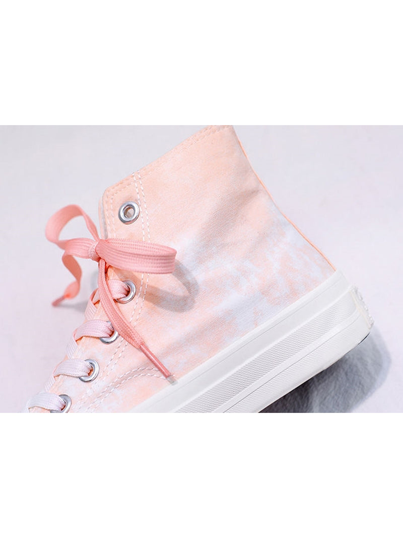 'Diana' Tie Dye High Top Sneakers (3 Colors)