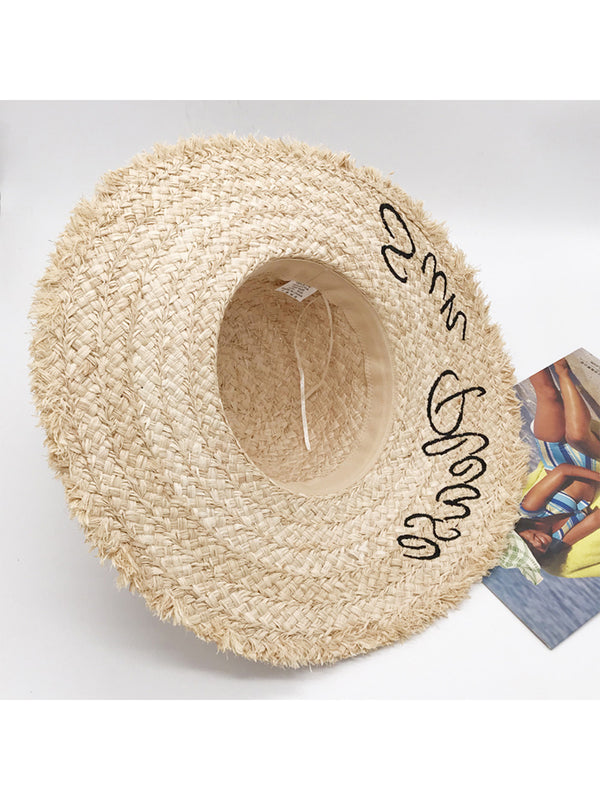 'Dodo' Sun Please Rattan Hat