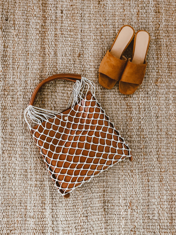 'Joy' Structured Net Bag
