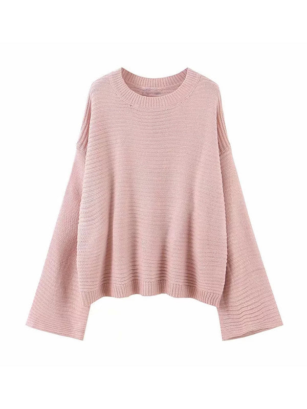 'Coco' Lightweight Wide Sleeves Sweater (2 Colors)