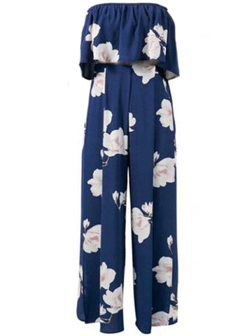 'Sharice' High Neck Floral Maxi Dress