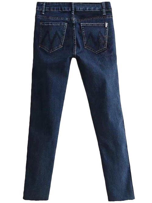 'Remona' Side Double Line Jeans