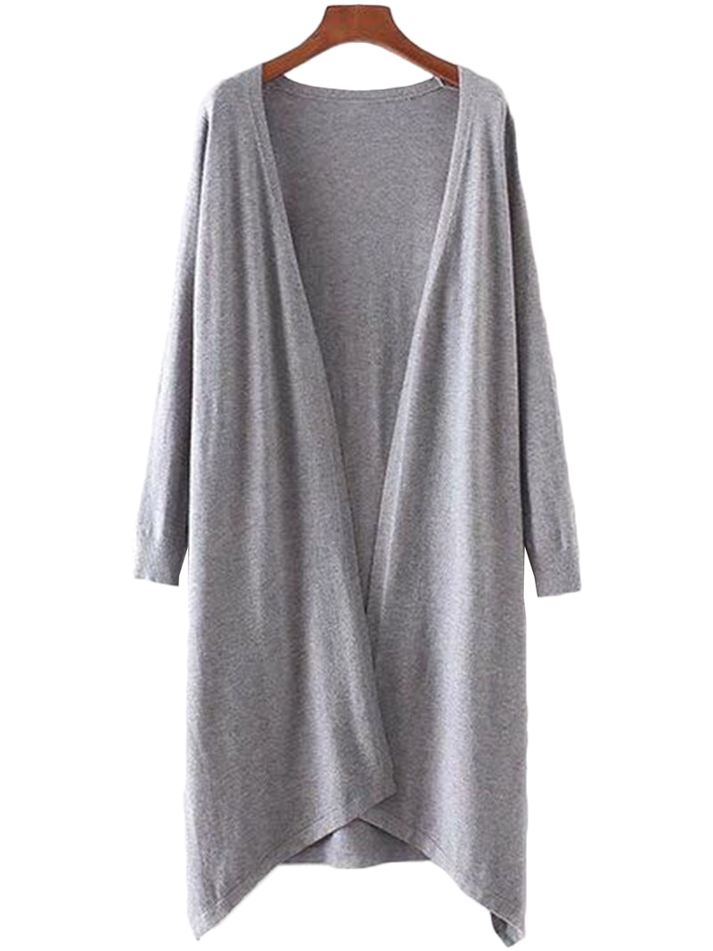 Grey Soft Long cardigan by Goodnight Macaroon