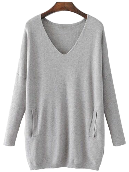 'Shela' V-neck Sweater