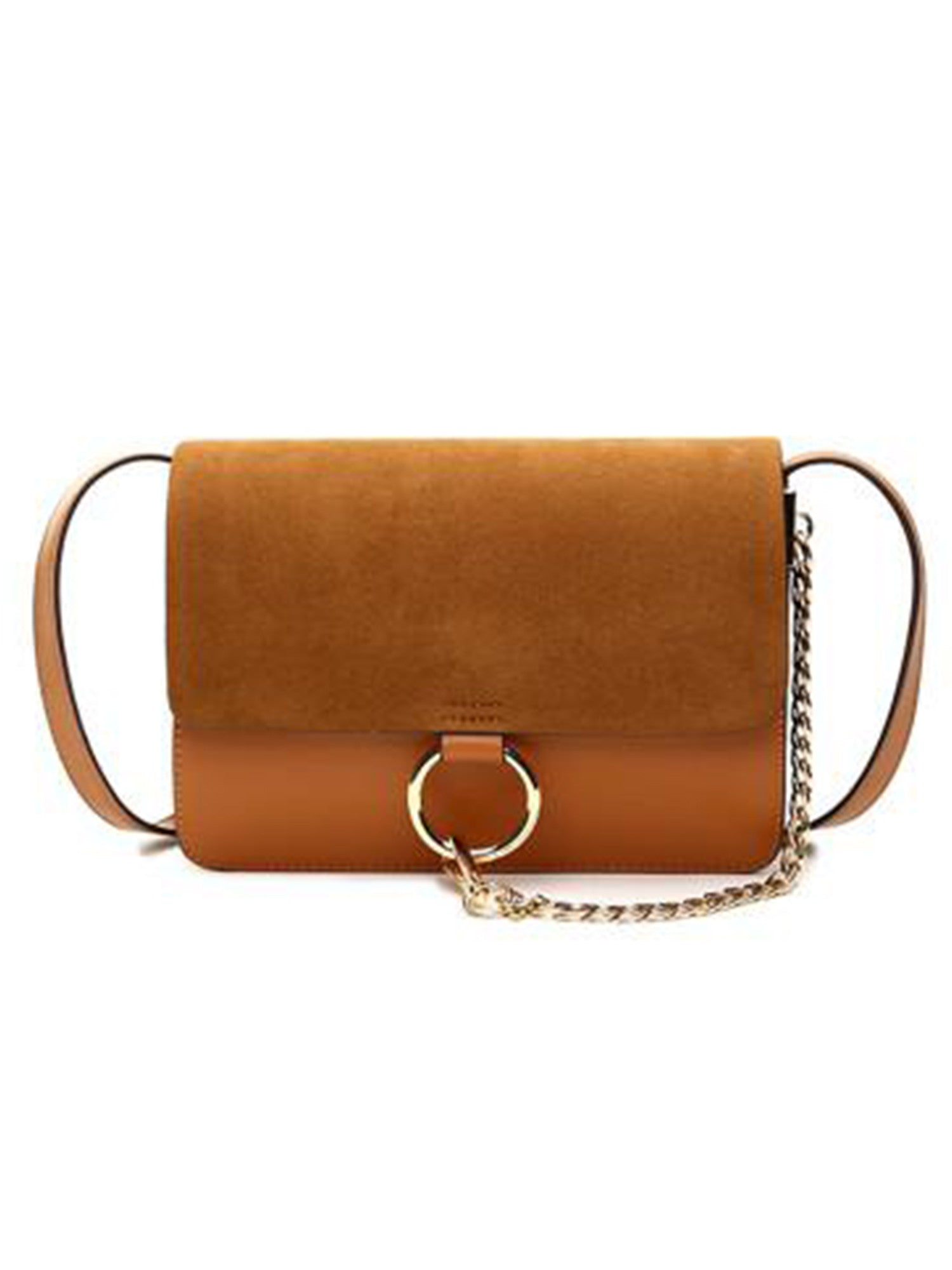 Anja Faux Suede Leather Cross Body Bag