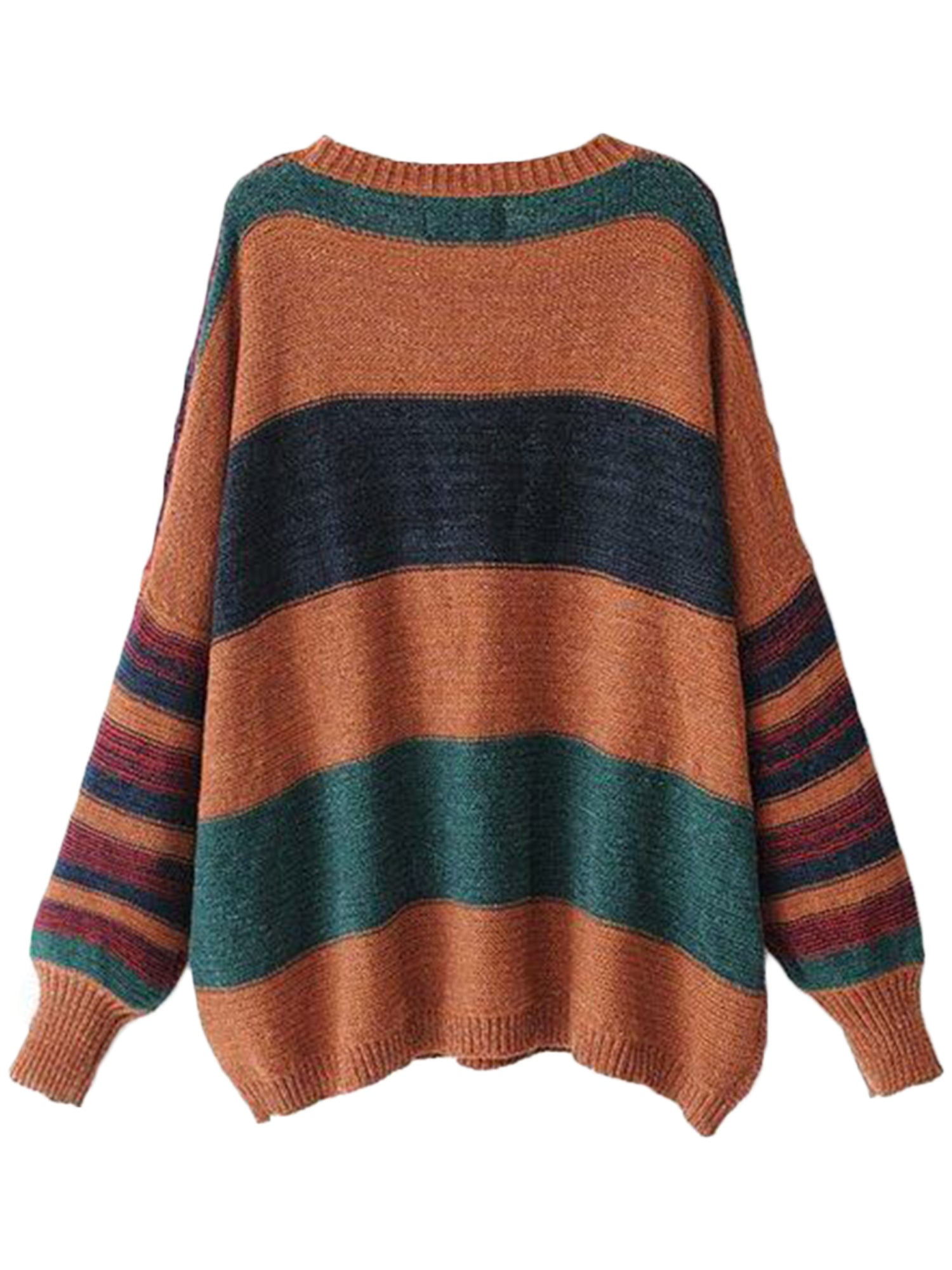 'Sixta' Color Block Stripe Sweater