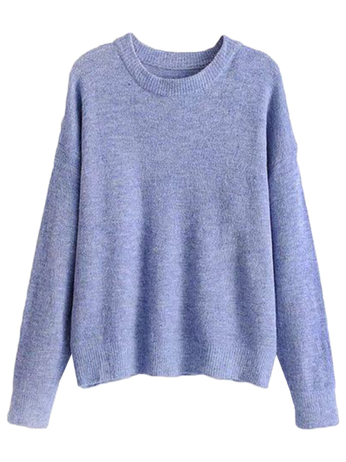 'Norene' Soft Crewneck Sweater (3 Colors)