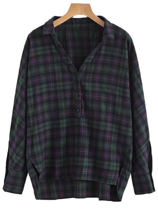 'Marsha' Plaid Shirt