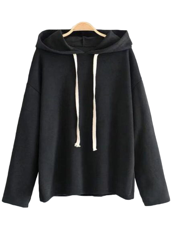 'Ouida' Drop Shoulder Hoodie (2 Colors)