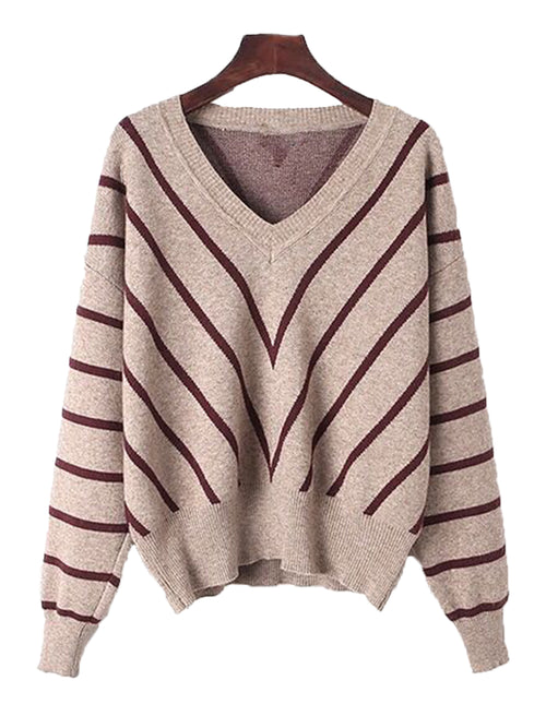 'Maria' Chevron Sweater (3 Colors)
