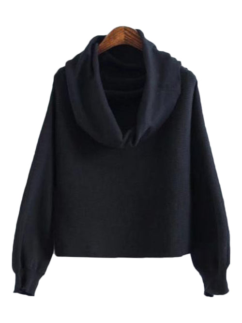 'Starla' Hooded Crop Sweater (4 Colors)