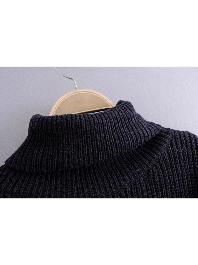 'Nannie' Turtleneck Two-way Sweater