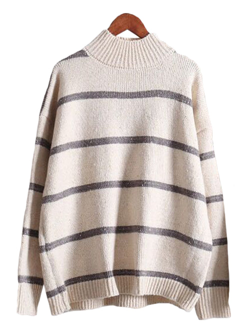 'Sena' Stripe Sweater (3 Colors)
