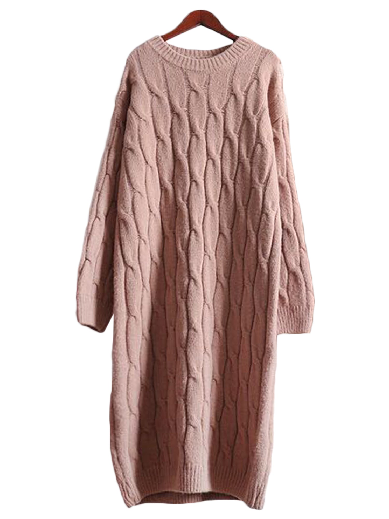 'Lisandra' Cable-knit Dress (3 Colors)