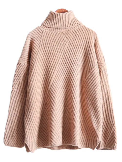 'Reba' Knitted Turtleneck Sweater