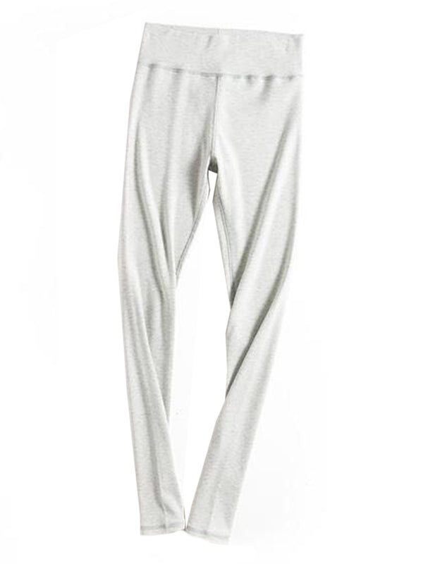 'Jane' Comfortable Leggings Product Light Gray Goodnight Macaroon