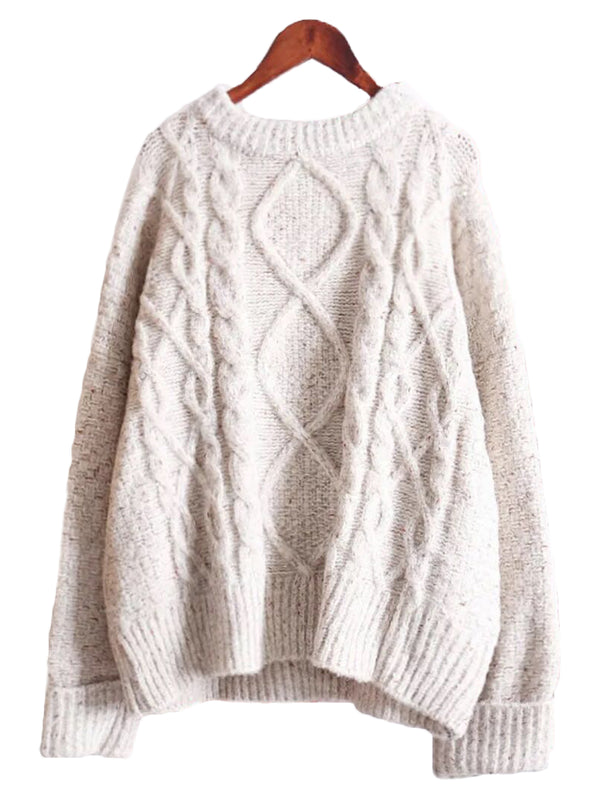 'Marge' Cable-knit Sweater
