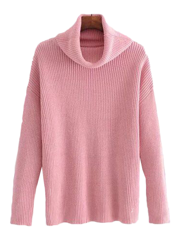 'Salli' Turtleneck Sweater (4 Colors)