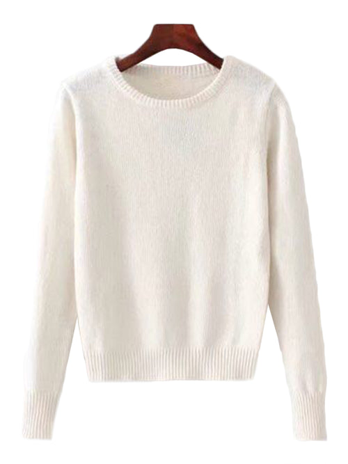 'Josephine' Crewneck Soft Sweater