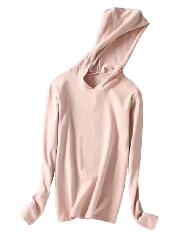 'Petronia' Soft Pink Hoodie