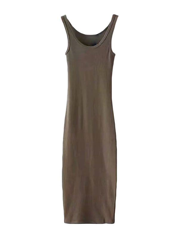 'Joey' Tank Basic Dress (4 Colors)