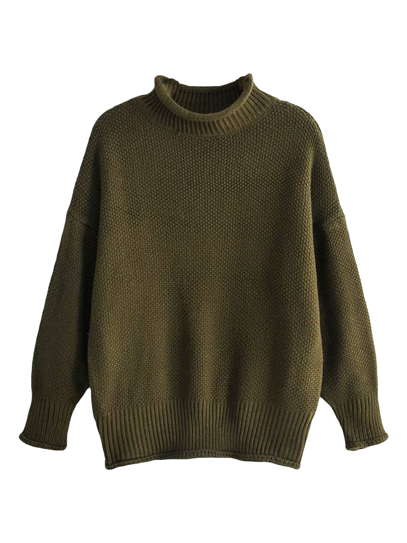 'Arby' Rolled Edge Sweater (3 Colors)