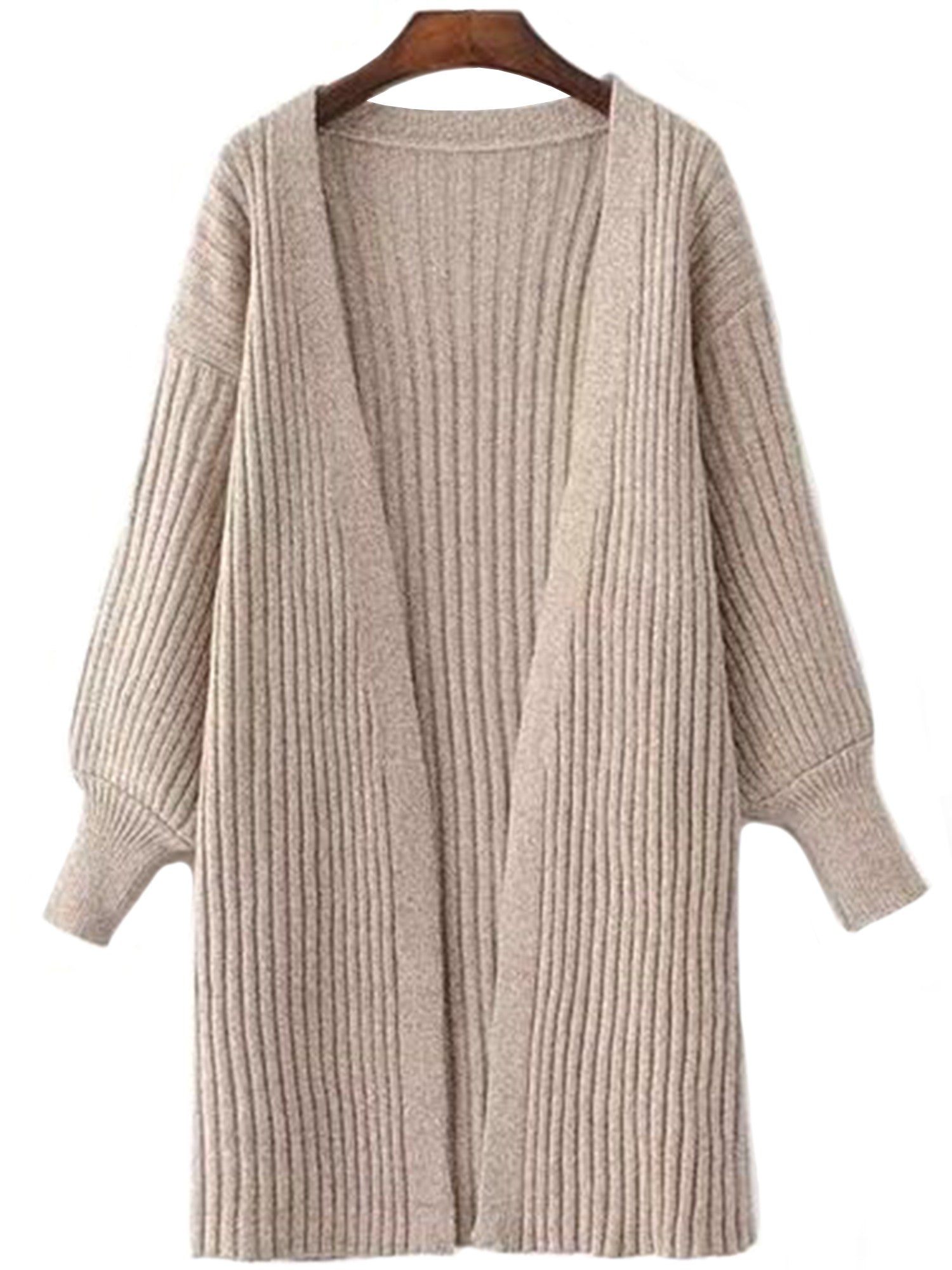 Ruthe' Knit Open Wrap Cardigan (3 Colors Available) – Goodnight ...