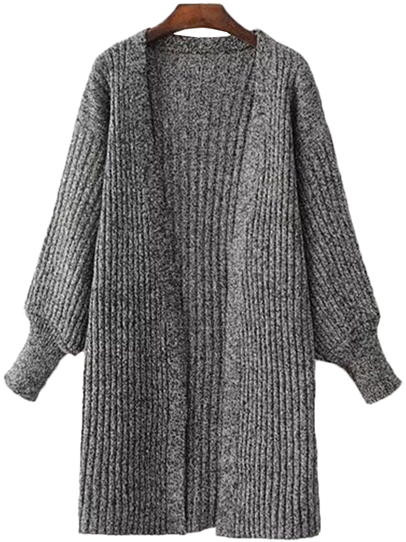 'Ruthe' Knit Open Wrap Cardigan (3 Colors Available)