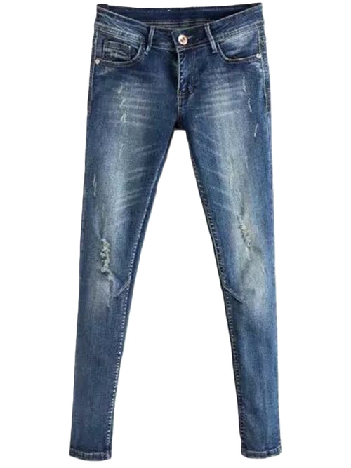 'Rucio' Washed Ripped Jeans
